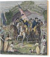 Washington: Trenton, 1789 Wood Print