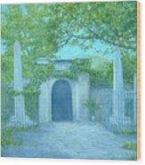 Washingtons Grave Wood Print