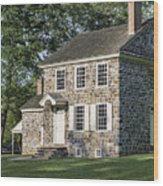 Washington's Headquarters Wood Print