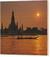 Wat Anun Temple Wood Print