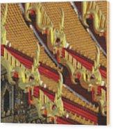 Wat Benjamabophit Wood Print