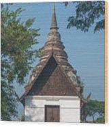 Wat Jed Yod Phra Ubosot Dthcm0967 Wood Print