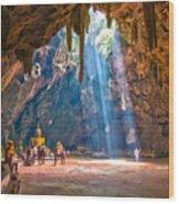 Wat Khao Luang Wood Print