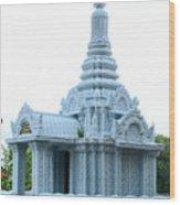 Wat Krom 35 Wood Print