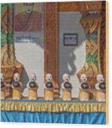 Wat Mae Faek Luang Phra Wihan Daily Merit Bowls Dthcm1879 Wood Print