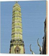 Wat Po Bangkok Thailand 21 Wood Print