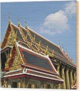 Wat Po Bangkok Thailand 24 Wood Print