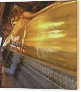 Wat Po Bangkok Thailand 32 Wood Print