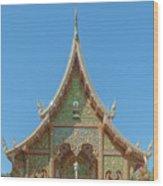 Wat Suan Prig Phra Wihan Gable Dthcm2391 Wood Print