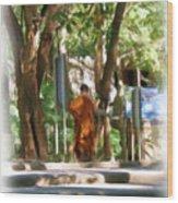 Wat Umong 2 Wood Print