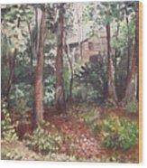 Watauga Cabin Wood Print