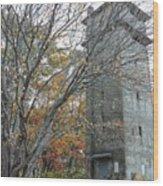Watch Tower Wood Print