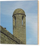 Watch Tower On The Castillo Wood Print
