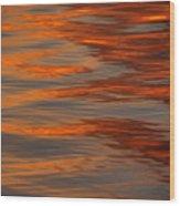 Water Abstract 1 1 14 Wood Print