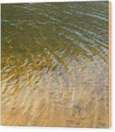 Water Abstract - 1 Wood Print