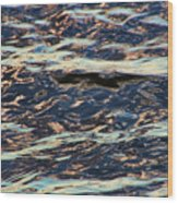 Water Abstract 3 24 15 Wood Print