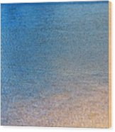 Water Abstract - 3 Wood Print