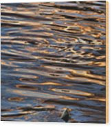 Water Abstract 4 Wood Print