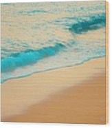 Water And Sand Wood Print