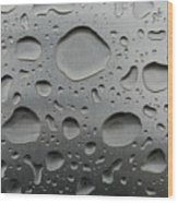Water And Steel Wood Print