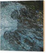 Water Art 11 Wood Print