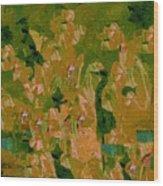 Water Bird Tapestry Wood Print