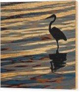 Water Birds Series 3 Wood Print