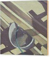 Water Bucket Wood Print