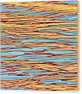 Water Colors 7 Wood Print