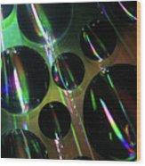Water Droplets 1 Wood Print