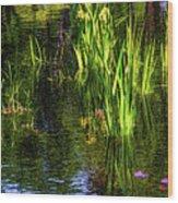 Water Dwellers Wood Print