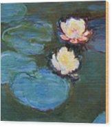 Water Lilies 1899 Wood Print
