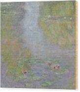 Water Lilies 1908 Wood Print
