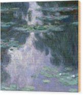 Water Lilies, Nympheas, 1907 Wood Print
