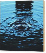 Water Meditation Wood Print