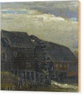 Water Mill At Opwetten Vincent Van Gogh Wood Print