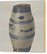 Water Or Wine Jug Wood Print
