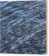 Water Pattern Wood Print