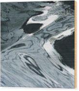 Water Patterns Wood Print