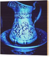 Water Pitcher And Bowl Still Life Wood Print