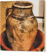 Water Pitcher Wood Print by Jimmy Ostgard