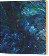 Water Reflections 1 Wood Print