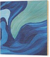 Water Spirit Wood Print