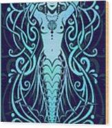 Water Spirit Wood Print by Cristina McAllister