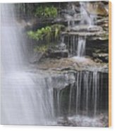 Water Terrace Wood Print