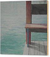 Water15 Wood Print