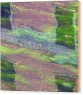 Water3 Wood Print