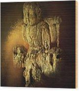 Waterboy As The Buddha Wood Print