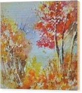 Watercolor 011121 Wood Print