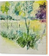 Watercolor 014052 Wood Print